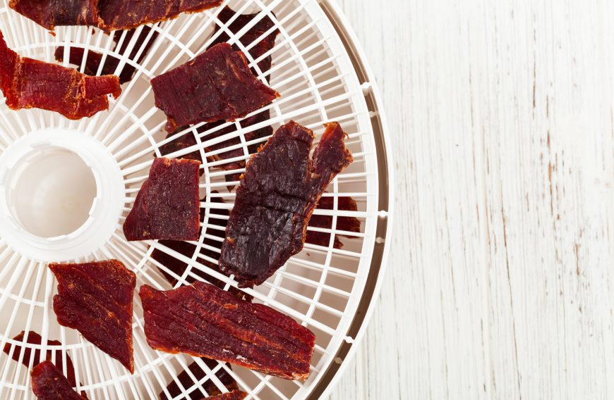 Homemade Beef or Chicken Jerky for Dogs