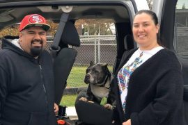 Pit Bull Adopted after 5 Years in Shelter
