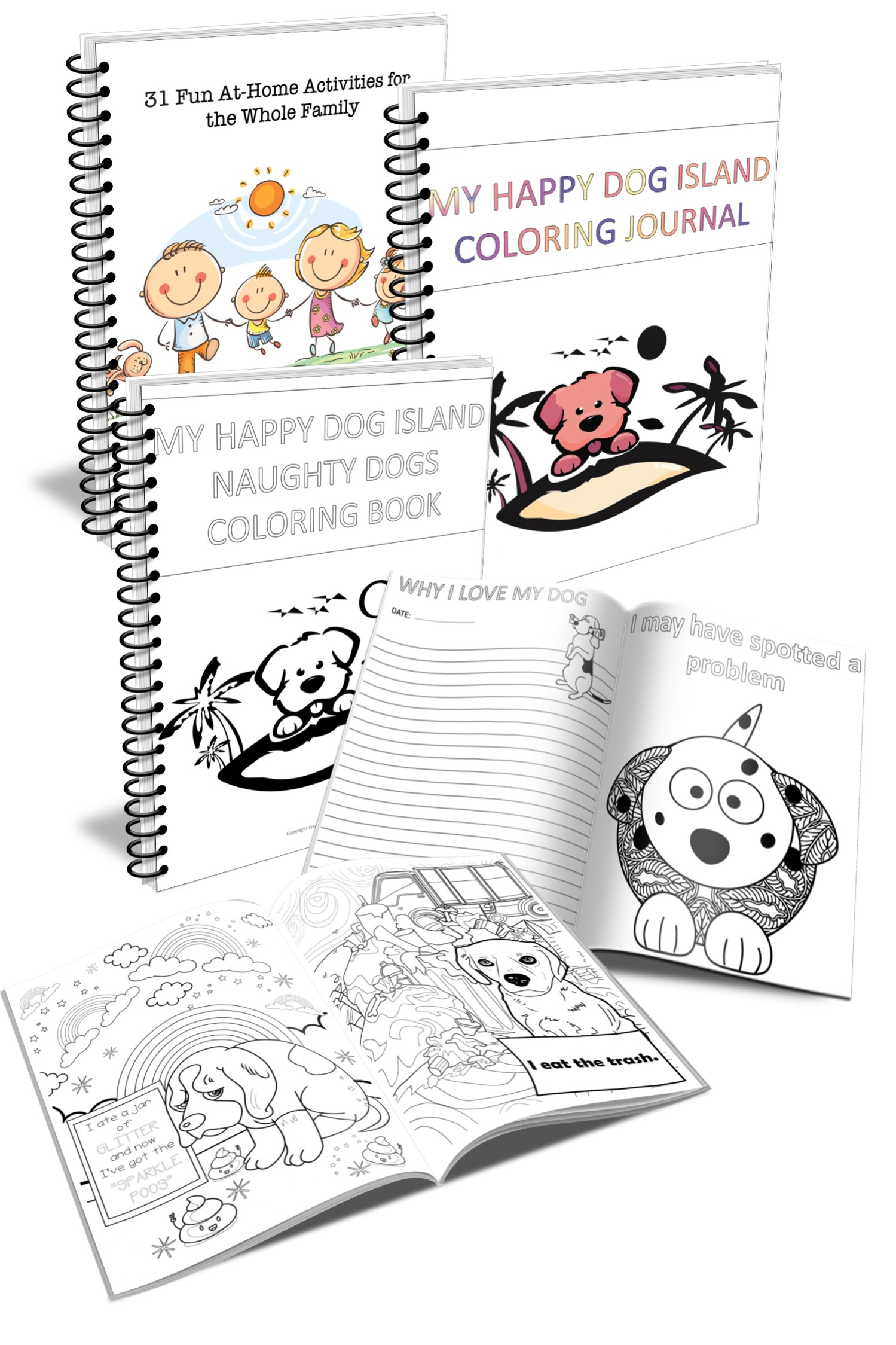 Free Dog Lover Coloring Books