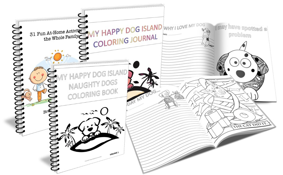 Free Coloring Pages for Dog Lovers