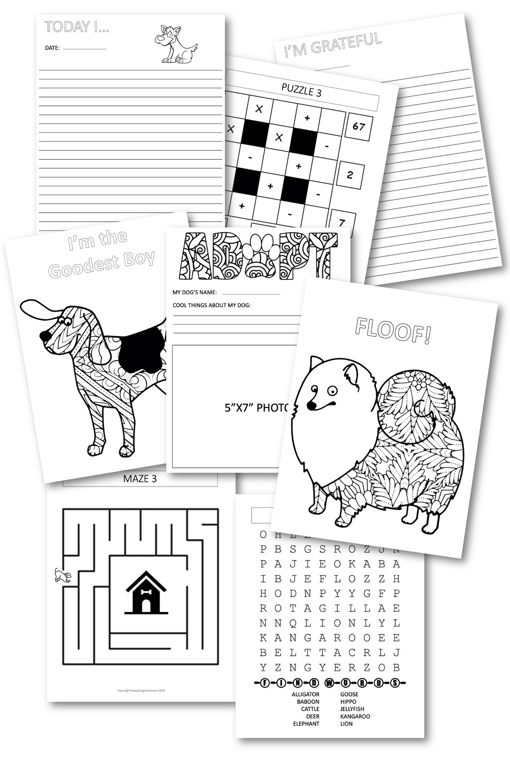 A Peek at the Printables