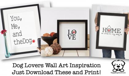 DIY Dog Lovers Wall Art Inspiration