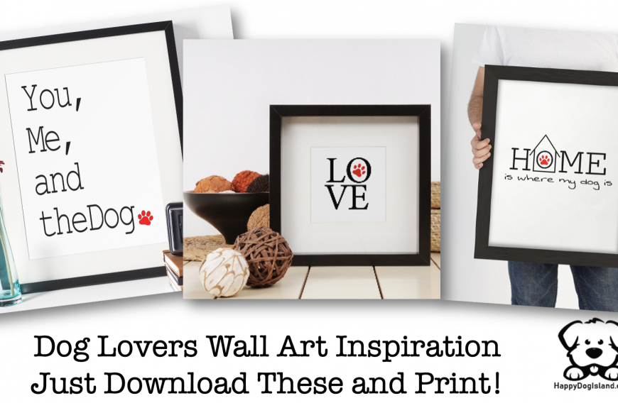 DIY Dog Lovers Wall Art Inspiration