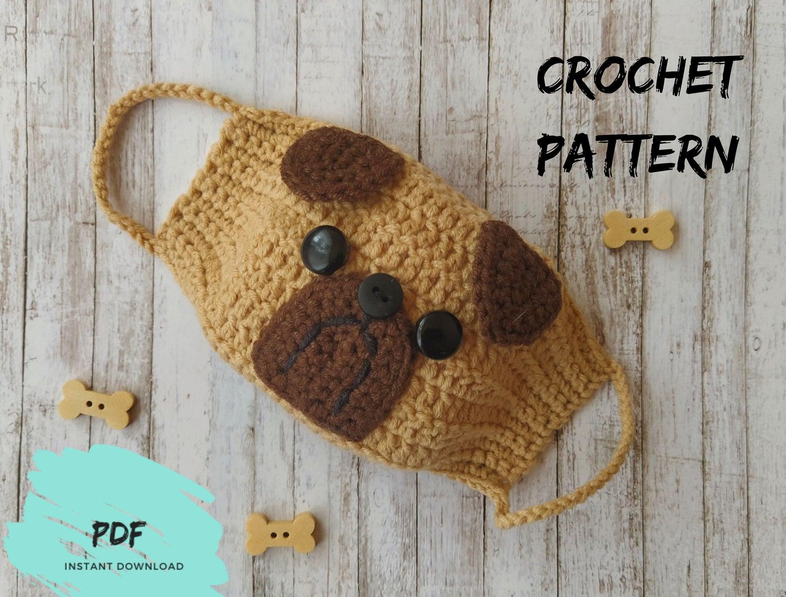 Dog Mask Crochet Pattern