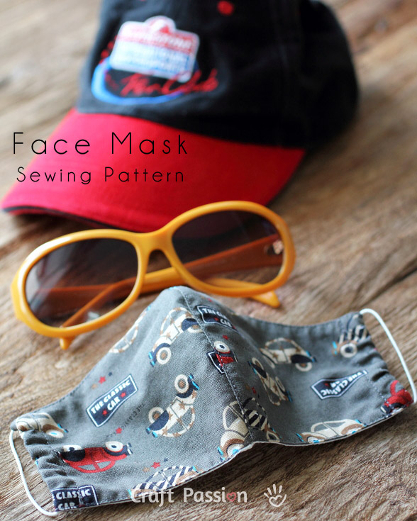 Free Face Mask / Covering Pattern