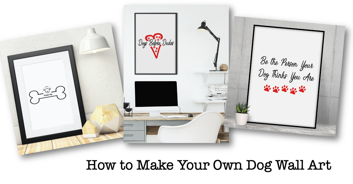 How to Make Your Own Wall Art for Dog Lovers